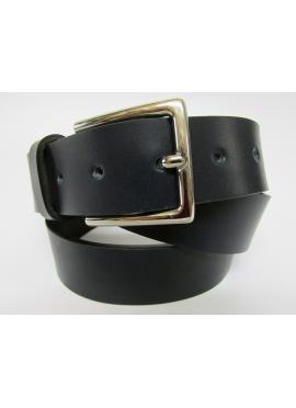 Cintura sportiva in cuoio di toro blu