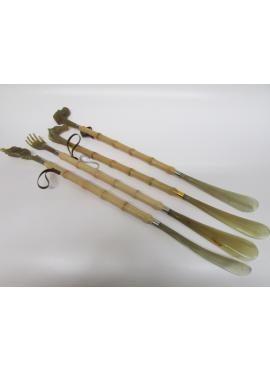 Calzante lungo finto bambù