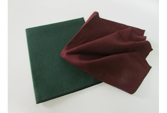 Panno cotone bordato per lucidare